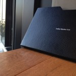 軽くて機能的な紙でできたMacBook Airケース【Zephyr Rhythm Grid】エアテゴ AIRTEGO