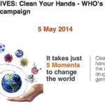 5月5日は、WHOの手指衛生の日【SAVE LIVES: Clean Your Hands】